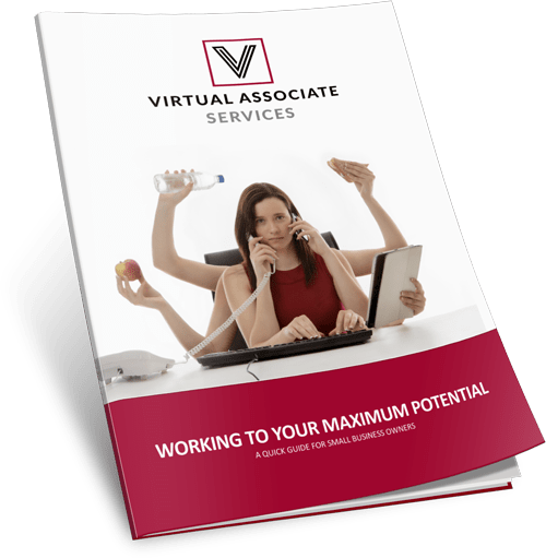 eBook Guidebook for Business Owners - Working to your Maximum Potential using a virtual assistant